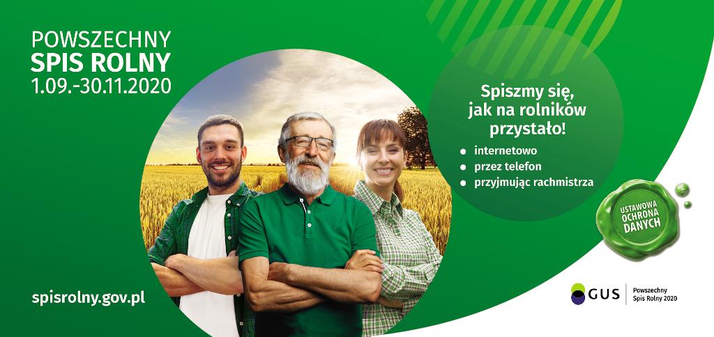 Banner Spis Rolny 2020