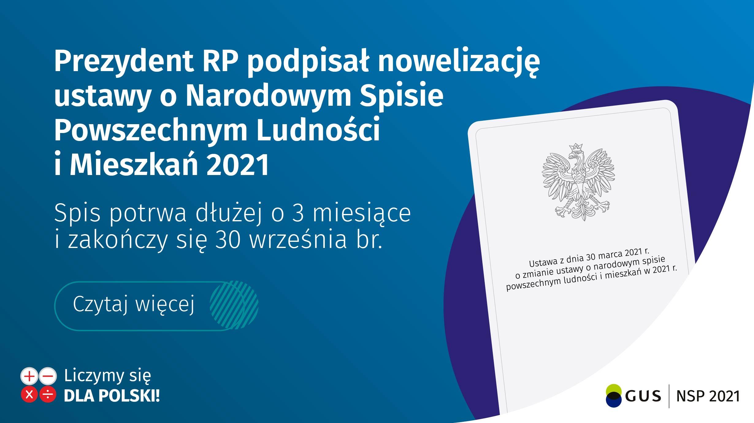 Informacja o przedłużeniu terminu NSP o 3 miesiące